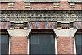 SK5804 : 11-13 Wellington Street, Leicester – detail by Alan Murray-Rust
