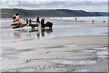 SM8422 : Eyes on the surf at Newgale Sands by Simon Mortimer