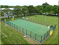 ST5490 : Basketball court at the Beachley Barracks by Mat Fascione