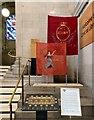 SJ8397 :  Peterloo Massacre replica flags by Gerald England
