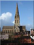 SX9192 : St Michael & All Angels' Church, Mount Dinham, Exeter by Chris Allen