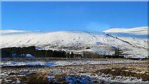NH1657 : Approaching Achnasheen Station from Kyle by Julian Paren