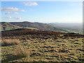 SJ1267 : The Clwydian Range from Penycloddiau by Eirian Evans