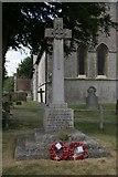 SU4774 : Chieveley war memorial by Bill Nicholls