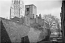 ST5972 : The Shot Tower, rear view from Redcliffe Parade by Martin Tester