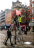 SJ8498 : Year of the Pig, Market Street, Manchester by Matt Harrop