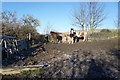 SE2128 : Kirklees Way at Heightlands Farm by Ian S