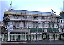 SH5638 : Former Kerfoots building undergoing renovation by Arthur C Harris