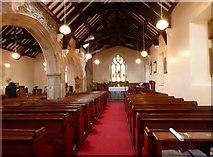 SH3568 : St Beuno's Church, Aberffraw by Eirian Evans