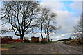 SY6499 : Farm Machinery on Cowdown Hill by Chris Heaton