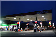 SO8466 : Petrol station by the A449, Dunhampton by David Howard