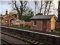 ST1334 : Goods office at Crowcombe Heathfield station, West Somerset Railway by Marika Reinholds