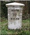 ST8054 : Old Milepost by JR Dowding