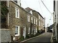 SW9175 : Houses on High Street, Padstow by Derek Harper