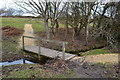 SZ2493 : Footbridge over stream on Barton Common by David Martin