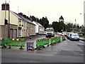 H4573 : Road works along Old Mountfield Road, Omagh by Kenneth  Allen