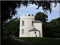 SO5212 : The Round House, the Kymin by Jonathan Thacker