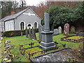 SN6540 : Capel Pumsaint and cemetery by Colin Cheesman
