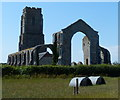 TM5281 : The ruins of St Andrews Church, Covehithe by Mat Fascione
