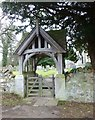 NU0116 : Lychgate at St Michael & All Angels Church, Ingram  by Russel Wills