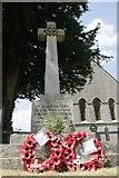SU4774 : Wreaths on the memorial by Bill Nicholls