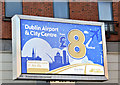 J3373 : Ulsterbus Dublin express advertisement, Belfast (February 2019) by Albert Bridge