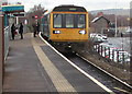 SO0002 : Transport for Wales train in Aberdare station by Jaggery