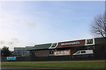 SP4541 : McDonald's on Ruscote Avenue, Banbury by David Howard