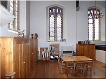 SP2760 : Inside St Peter, Barford (B) by Basher Eyre