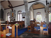 SP2760 : Inside St Peter, Barford (D) by Basher Eyre