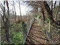 TQ2468 : Public footpath near Morden by Malc McDonald