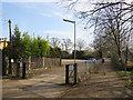 TQ2467 : Entrance to Morden Park, near Morden by Malc McDonald