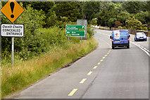X2795 : Northbound N25 near Dungarvan Golf Club by David Dixon