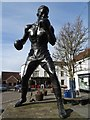 SP2864 : Statue of Randolph Turpin by Philip Halling