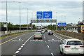 O1826 : Sign Gantry on the M50 at Junction 14 by David Dixon