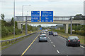 O2025 : Overhead Signs on the M50 near Leopardstown by David Dixon