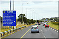 O2024 : Eastbound M50 near Leopardstown by David Dixon