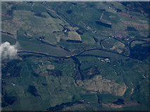 NX8788 : The River Nith from the air by Thomas Nugent