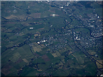 NX9376 : Dumfries from the air by Thomas Nugent