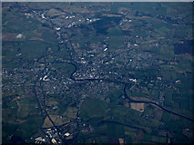 NX9573 : Dumfries from the air by Thomas Nugent