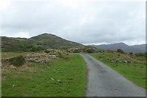 SH6130 : Road near Rhyd yr Eirin by DS Pugh