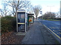 TA0527 : KX100 PLUS telephone box on Hessle Road, Hull by JThomas