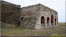 NU1341 : Lime kilns, Holy Island by Ian Taylor