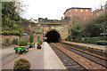 SE3457 : Knaresborough tunnel by Richard Croft