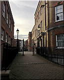 TQ3480 : Sovereign Close from the east, Shadwell by Robin Stott