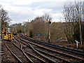 SO7483 : Railway tracks at Highley Station in Shropshire by Roger  Kidd