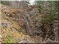 NH3508 : Waterfall on the Allt na Feàrna by valenta