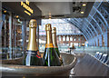 TQ3083 : Champagne, St Pancras Railway Station by Rossographer