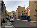 TQ3580 : Garnet Street looking north past Maynards Quay gated residential development by Robin Stott