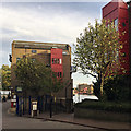 TQ3580 : A glimpse of Shadwell Basin from Newlands Quay by Robin Stott